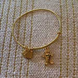Alex and Ani Holiday Gingerbread Bracelet